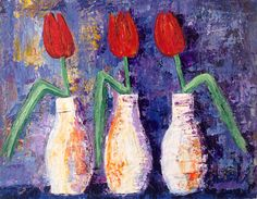 Tulips Paintings For Sale, Tulips, Art, Art Background, Tulip, Kunst, Gcse Art, Art Education Resources, Artworks
