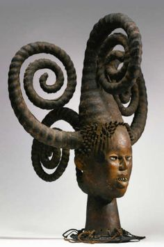 Ejagham headcrest, Cross River Region, Nigeria. Height: 68,6 cm. Image courtesy of Sotheby's.