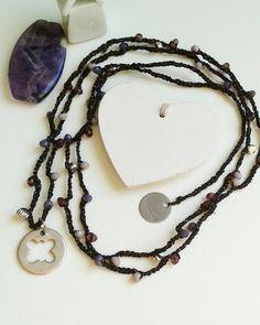 Collana uncinetto fatta a mano Hand made necklace