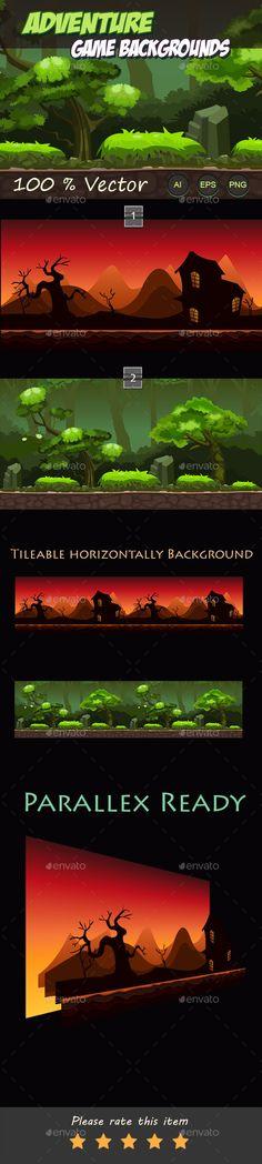 Adventure Game Backgrounds Download here: https://graphicriver.net/item/adventure-game-backgrounds/10924642?ref=KlitVogli