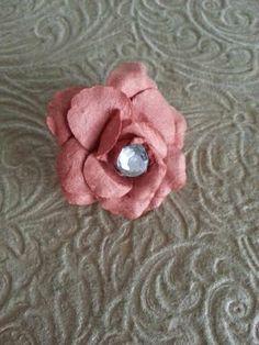 Vintage Style Rose Hair Clip by ErikaRenaeDesigns on Etsy, $6.00