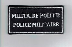 Militaire Politie Police Militaire