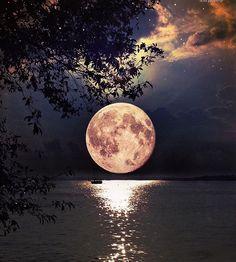 #fullmoon #beauty #night #wantobeunderthis