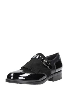 Choizz Exclusive klassieke gespschoenen voor dames - zwartlak