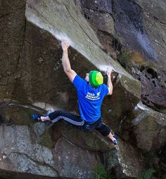 www.boulderingonline.pl Rock climbing and bouldering pictures and news Kyle Rance playing o