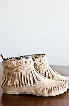 Must Have Moccasins-Khaki