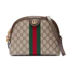 ab54c900845c Linea dragoni gg supreme canvas small shoulder bag by Gucci #gucci #bags  Small Shoulder