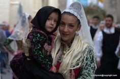 La festa di Sant'Isidoro a Nulvi. Gli agricoltori festeggiano il loro Santo Patrono.