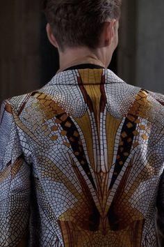 Alexander McQueen Menswear Spring/Summer 2013 Ready-to-Wear Milan