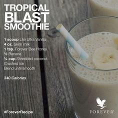 #ForeverLiteUltra #smoothierecipe  #foreverlivingglutenfree