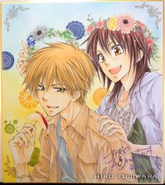 Kaichou wa Maid-sama by Fujiwara Hiro Manga Art, Anime Manga, Anime Art, Tsundere, Anime Life, All Anime, Best Romantic Comedy Anime, Usui Takumi, Maid Sama Manga