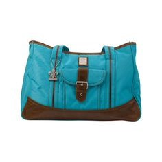 Kalencom Week-Ender Bag found on Polyvore featuring polyvore and blue