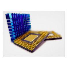 micro processor poster