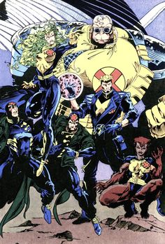 This was my team x-factor while growing up while my brother liked x-men and my other brother liked x-force.