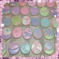 Easter Eggs Pastel | Cookie Connection