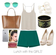 """Lunch with the Chickas'"" by kelsmthimunye on Polyvore"