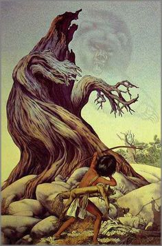 Bev Doolittle - Ghost of the Grizzly Tree