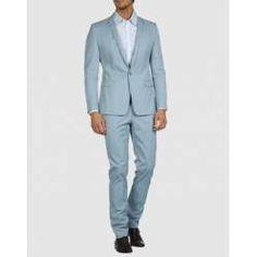 Duck Egg Blue Suit