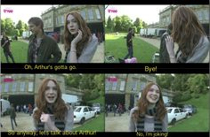 She's so cute and funny! - Doctor Who Confidential