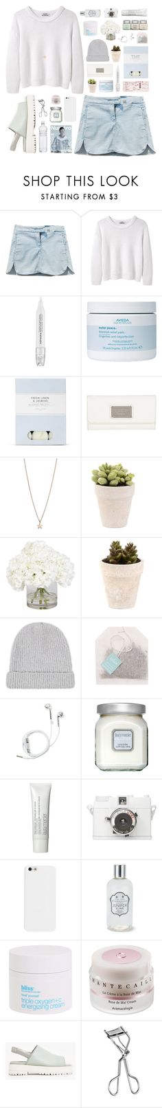 """""""MILD IVY"""" by penitdown ❤ liked on Polyvore featuring Acne Studios, Sephora Collection, Aveda, Laura Ashley, Marc by Marc Jacobs, Minor Obsessions, Ethan Allen, Paper Source, PhunkeeTree and Laura Mercier"""