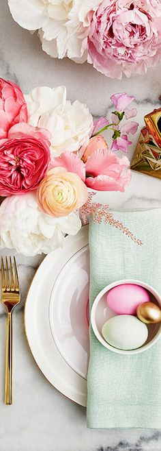 Easter Table Setting by Emily Henderson