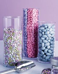 Cylinder Centerpieces for your wedding table centerpieces. Fill them with shells for beach wedding, colorful dice for Vegas theme or gorgeous floral arrangements for traditional vows, these glass vases add charm and elegance to your tables. Cylinder Centerpieces, Edible Centerpieces, Wedding Table Centerpieces, Wedding Favors, Wedding Ideas, Wedding Reception, Diy Centrepieces, Quinceanera Centerpieces, Tall Vases