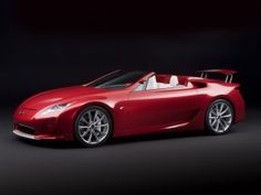 Lexus Red Sports|Car HD Wallpaper