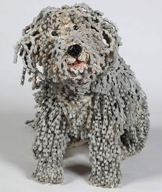Daily Pictures: Recycled Bicycle Chain Dogs by Nirit Levav Packer