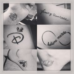 Disney tattoos I want