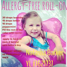 All-natural allergy relief kid-friendly essential oils young living