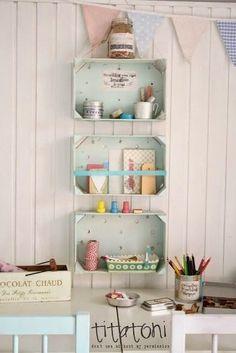 Decorando con: Cajas de Frutas | Decorar tu casa es facilisimo.com