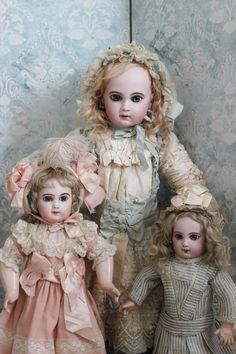 Vintage French Jumeau dolls