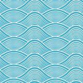 Point de vagues de l'océan sans couture japonaise — Illustration #17975345