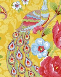 Tapet Pip Flowers in the Mix Yellow från Pip Studio. Så galen och så cool!