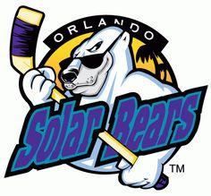 Orlando  Solar Bears Primary Logo (1996) -