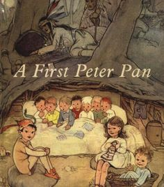 Illustrated by Mabel Lucy Atwell, this was my introduction to Peter Pan. Beautiful illustrations