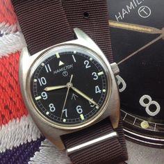[Vends] Hamilton militaire anglaise W10 de 1973