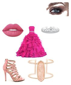 """""""belle au bois dormant"""" by louloune-etoile on Polyvore featuring Kendra Scott, Lime Crime and Bling Jewelry"""