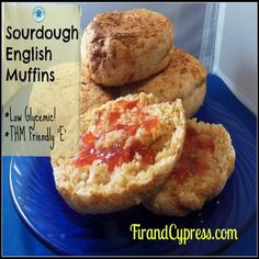 E - Ingredients:  (the night before) 1/2 cup sourdough starter 1/2 cup almond milk 1/2 cup filtered water 2 cups whole wheat, spelt, or rye flour  (to be added in the morning) 1 tsp Truvia 1 tsp unrefined sea salt 1 tsp baking soda