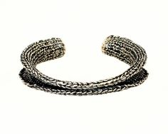 Narrow+Double+Flare+Cuff+by+ashflowers2+on+Etsy,+$300.00