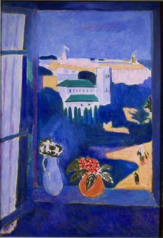 Henri Matisse (France, 1869 - 1954) Fenêtre à Tanger / Window at Tangier (Landscape viewed from a window, Tangiers), 1911-12 Oil on canvas 115 x 80 cm