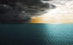 Storm clouds covering the sun Desktop WallPaper HD - http://imashon.com/beach/storm-clouds-covering-the-sun-desktop-wallpaper-hd.html