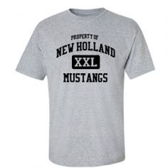 New Holland Middletown School - Middletown, IL | Men's T-Shirts Start at $21.97