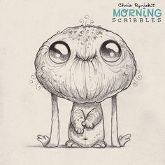 Floopy ears. #morningscribbles