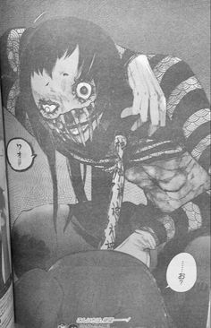tokyo ghoul re spoilers body horror gore /// who is he
