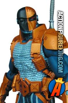 7-inch scale Deathstroke: The New 52 Super Villains Action Figure from DC Collectibles. #dccollectibles #actionfigures #deathstroke