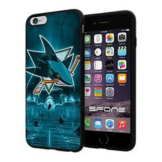 San Jose Sharks WADE3121 Hockey iPhone 6+ 5.5 inch Case Protection Black Rubber Cover Protector WADE CASE http://www.amazon.com/dp/B0137DBVB8/ref=cm_sw_r_pi_dp_Ud3mwb0B0107N