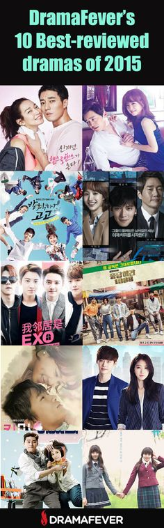 See which dramas earned the highest star ratings from DramaFever viewers in 2015! Did your favorites make the cut?