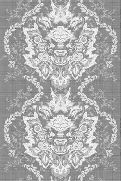 Devil Damask Lace by Timorous Beasties