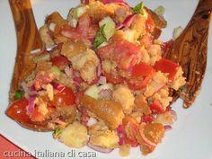 ricetta panzanella cucina pugliese